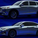 Фотографии нового поколения Acura MDX и TLX просочились самым странным образом