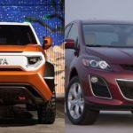 Новые внедорожники Toyota и Mazda, которые будут построены в Алабаме