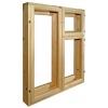 Деревянные окна двери арки