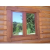 Деревянные окна на дачу.